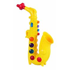 Small World Toys Saxophone - One of Rocco's favorite toys!