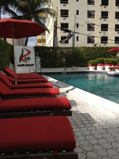 RED South Beach Hotel: This hotel, located on historic Collins Avenue, across from the white sands of the beach and at the gateway to South Beach in iconic Miami Beach. #Miami #Hotels