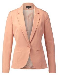 mbyM TABITA - Blazer - cafe creme - Zalando.de Camel Blazer, Beige Blazer, Knit Blazer, Knit Jacket, Blazer Jacket, Blazers For Women, Jackets For Women, Clothes For Women, Plain White Shirt