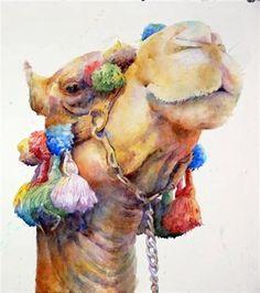 loose animal watercolor paintings - Google Search
