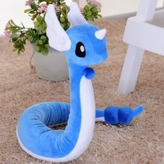Cosplay blue dragon plush toys for kids boys childrens day gift decorative dolls