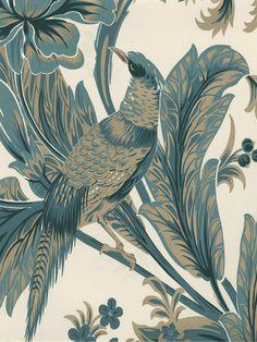 BC1581475 - Wallpaper | COLOUR BY DESIGN AQUA | AmericanBlinds.com