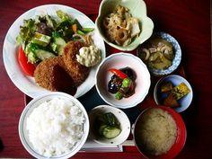 Beautiful Japanese lunch set
