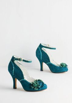 Poetic Licence Savor the Superb Heel in Teal
