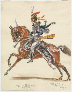 Officer 15th L.D. (Hussars) c.1812