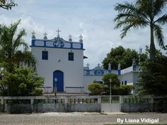 Igreja da Barra do Jucu - Vila Velha - ES (by Liana Vidigal)