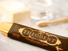 Whitening Crystal Mint Toothpaste by Theodent: something this pretty has to work, right?