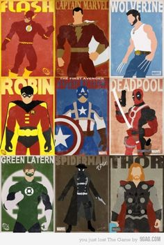 Superheroes...but why add Robin? Haven't we decided that he brings nothing to the table?