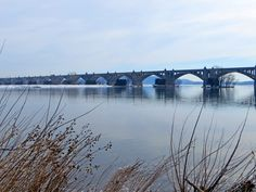 Columbia-Wrightsville Bridge spanning the Susquehanna River between Lancaster and York Counties in Pennsylvania  Where & When, Pennsylvania's Travel Guide #thingstodoinPA