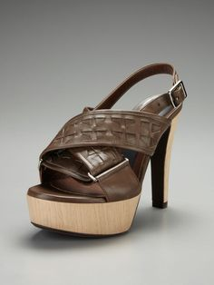 Criss Cross Buckle Sandal by Marni on Gilt.com