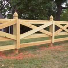 I really like this board fence.