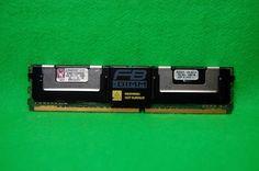 4GB RAM Kingston KVR667D2D4F5/4GI 240p PC2-5300 CL5 DDR2-667 MHz FBDIMM Speicher