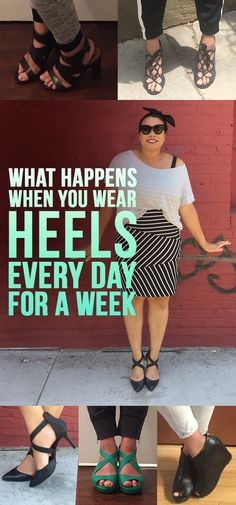 This Is What Happens When You Wear Heels Every Day For One Week