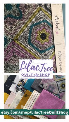 Lilac Tree, Tree Quilt, Quilts, Quilt Sets, Quilt, Log Cabin Quilts, Lap Quilts, Quilling, Afghans