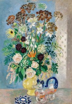 Arthur W. Percy (Swedish artist, 1886-1976) Flower Still Life