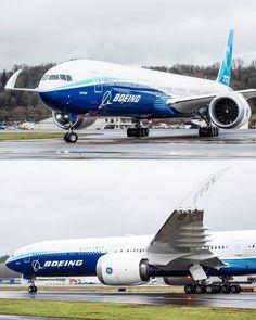 Boeing Planes, Satellite Network, Airplane Art, Boeing 777, Private Jet, Transportation Design, Happy Friday, Landing, Aircraft