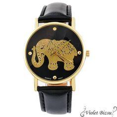 FUNIQUE 2017 New Fashion Casual Elephant Watch Women Dress Wristwatches Leather Quartz Watch Girls Ladies Clock Gifts Quartz Watch, New Fashion, Dame, Casual, Clock, Watch Women, Women's Watches, Leather, Gifts
