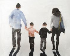 Family Walking Painting Family Picture Art PRINT Family Walk - Art Print - from original painting by J Coates Original Oil Painting or Print by JamesCoatesFineArt Family Canvas, Family Wall Art, Family Print, Family Drawing, Family Painting, Canvas Art Prints, Canvas Wall Art, Canvas Paper, Canvas Board