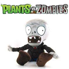 Melinterest Argentina. Plantas Vs Zombies - Zombie Peluche.