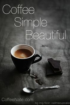 Perfect still life of coffee and chocolate Coffee Talk, I Love Coffee, Black Coffee, Best Coffee, Coffee Break, My Coffee, Coffee Drinks, Morning Coffee, Coffee Shop