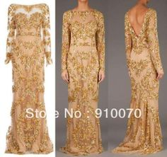 Gold Evening Gowns, Evening Dresses, Bridesmaid Dresses, Prom Dresses, Formal Dresses, Couture Collection, Beaded Embroidery, Pageant, Wedding Gowns