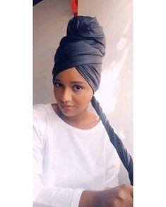 Hair Wrap Scarf, Hair Scarf Styles, Curly Hair Styles, Natural Hair Styles, African Hair Wrap, African Head Wraps, Mode Turban, Natural Hair Tutorials, Scarf Hairstyles