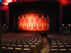 Liberty Of The Seas. Theater.