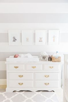 love the white dresser