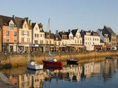La Trinité sur Mer,  le port.   Morbihan.  Bretagne
