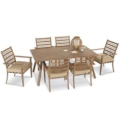 Point Reyes Collection 7-Piece Dining Set | Dining Furniture | Patio Furniture | Outdoor Living | Outdoor | Osh Categories | osh Site
