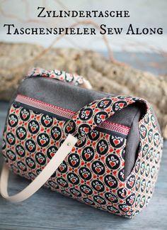 Zylindertasche - für den Taschenspieler 3 Sew Along von Frühstück bei Emma - Farbenmix