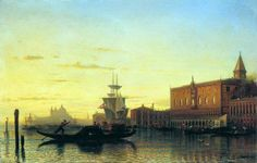 Alexey Petrovich Bogolyubov (16 March 1824 � 3 February 1896) Type of Venice. Doge's Palace Oil on canvas, 1860 67 x 104.5 cm Donetsk Regional Museum of Art, Ukraine
