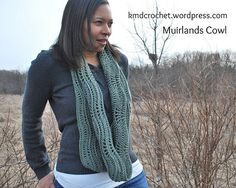 Muirlands Cowl Free Crochet Pattern | KMD Crochet I made this, it is an awesome pattern that is fun to stitch, lots of visually interesting texture.