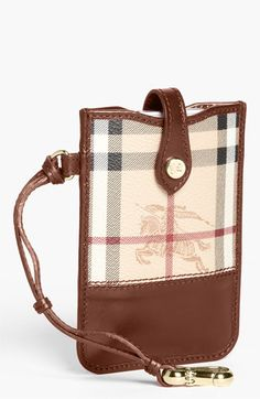 8102965edb09 Burberry  Haymarket Check  iPhone Wallet available at  Nordstrom Iphone  Wallet