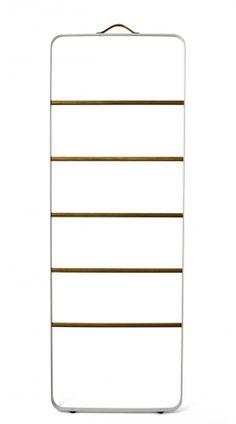LYS VINTAGE | Towel Ladder Handtuch Leiter weiß/helle Eiche | Shop