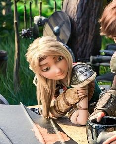 In the name of Astrid — She is so beautiful! Httyd Dragons, Dreamworks Dragons, Httyd 3, Disney And Dreamworks, Dragons Edge, Hiccup And Toothless, Hiccup And Astrid, Hestia Anime, Croque Mou