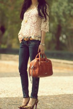Love this outfit- but the shoes dont really match.....
