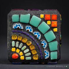 Multiple Personality Cube 2013 - Cherie Bosela - Fine Art Mosaics & Photography -