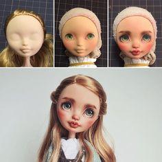Doll repaint tutorial monster high faces 63 Ideas for 2019 Custom Monster High Dolls, Monster High Repaint, Monster Dolls, Custom Dolls, Doll Face Paint, Doll Painting, Clay Dolls, Art Dolls, Doll Repaint Tutorial