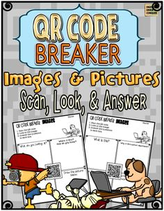 Do you practice visual literacy skills with your students? Use QR Codes connected to images and pictures to practice this great skill. Try it out with the Free QR Code Breaker  activity!