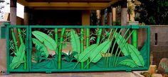 tropical gate