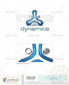 Technology Logo - 3D-682 — Photoshop PSD #dynamicsabstracttechnologyapex • Available here → https://graphicriver.net/item/technology-logo-3d682/524761?ref=pxcr