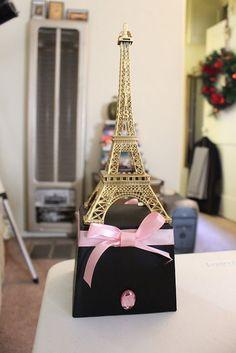 Pieza central de la Torre Eiffel de París por craftyvintagelife