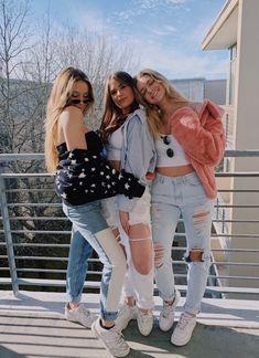40 New Street Wear Style Outfits Ideas To Look Cool – Trendy Fashion Ideas Cute Friend Pictures, Best Friend Pictures, Bff Pics, Best Friend Photography, Cute Friends, Three Best Friends, Best Friend Goals, Besties, Bestfriends