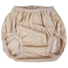 GaryWear Active Brief in Latte PUL. These pants are washable and breathable, and fit snugly over a disposable diaper. Laminated Fabric, Disposable Diapers, Waterproof Fabric, Cloth Diapers, Boho Shorts, Underwear, Lady, Briefs, Washing Machine