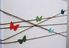 DIY Project – Butterfly Canvas Art