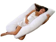 Premium Contoured Total Body Pillow/Maternity Pillow/Pregnancy Pillow (U Shape) What Causes Sleep Apnea, U Shaped Pillow, Pregnancy Pillow, Maternity Pillow, Maternity Pads, Maternity Stores, Pregnancy Info, Maternity Session, Maternity Dresses