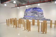 installation and performance title : our contemporaries  artist : yoojiwhan  2013. 3. 8 ~2013. 4. 28  DAEGU ART FACTORY in korea