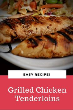 YOU ARE GOING TO LOVE THESE Grilled Chicken Tenderloins! So you have to make them, okay? Trust me. Chicken Breast Recipes Healthy, Healthy Recipes, Chicken Tenderloin Recipes, Chicken Tenderloins, Italian Dressing, Recipe Details, Popular Recipes, Lime Juice, Grilled Chicken