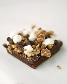 """See the """"Rocky Road Bars"""" in our Bar Cookie Recipes gallery"""